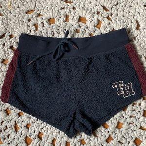 tommy fuzzy shorts